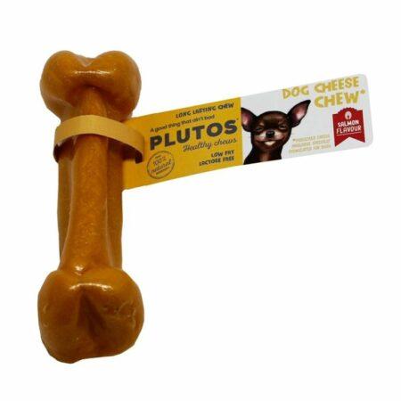 Pluto's kaasbotje zalm
