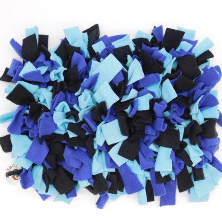 Snuffelmat blauw